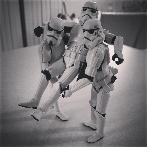 Lebroning Starwars Stormtroopers Stormtrooper