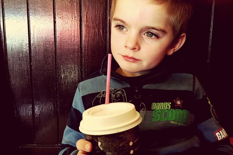 Myhandsomeson Milkshake Hanging Out Date With Mom