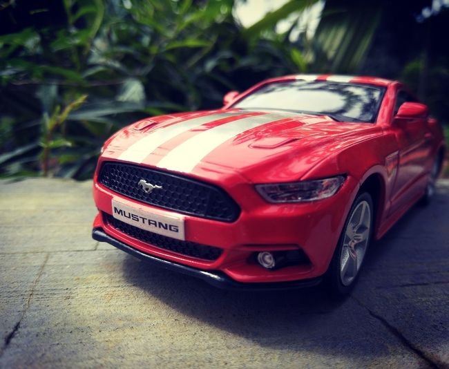 Ford Mustang Ford Toys4life Toystagram Car Red Close-up EyeEmNewHere EyeEm Selects Breathing Space Be. Ready.