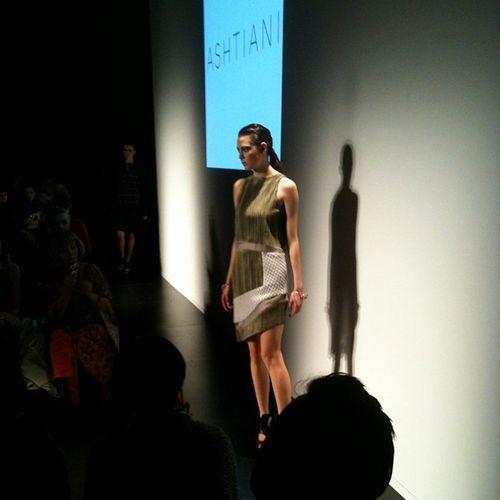 Play on textures at Ashtiani @golnazashtiani Wmcfw Fashion Style Torontofashionweek instagood