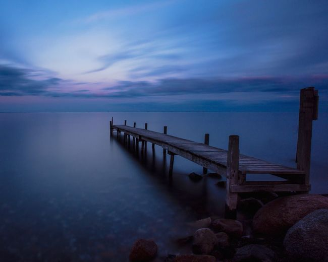 Blue Jetty Old