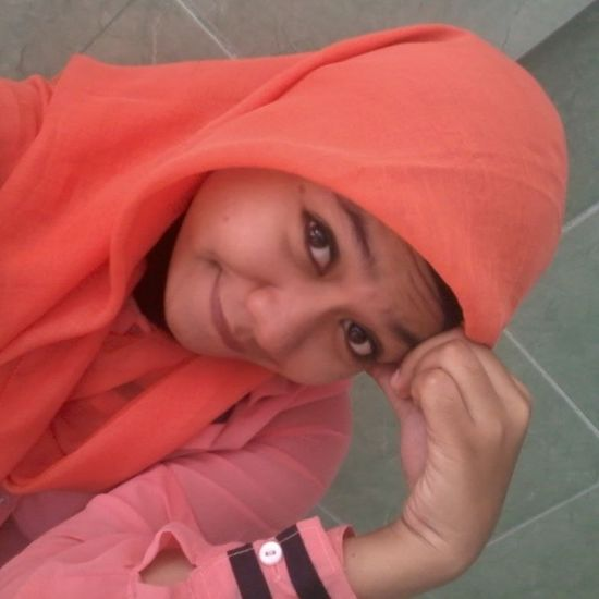 Me Narsis Justshare Jilbab orange instapic instalike