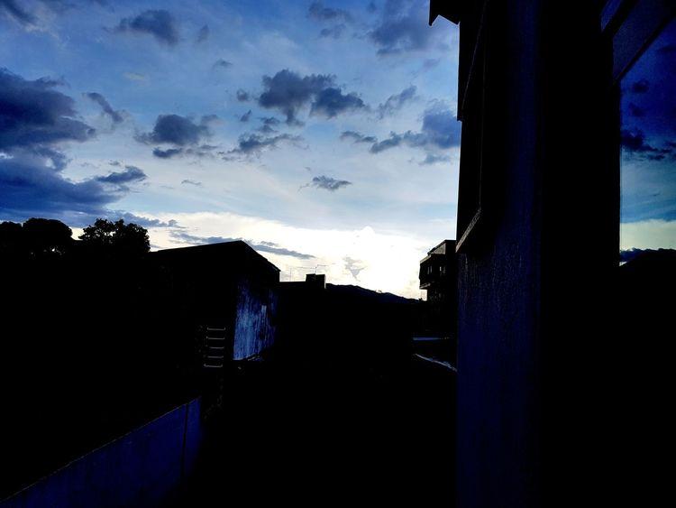 Blue Sky Cloud - Sky Sky Urban Skyline Outdoors Day No People Clouds Cloudy Sky Nuvem Céus E Nuvens Céu E Nuvem Céu OEstranhoMundoDePaulinhoAguiar Beauty In Nature Nature Sunset Silhouette Céu Perfeito Blue Nuvens Ceu Azul CeuAzul
