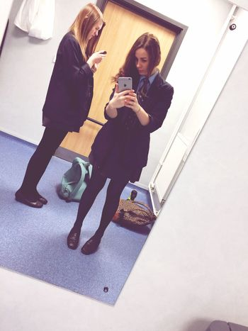Skiving Off School Toiletselfie Best Friends ❤ Beautiful ♥