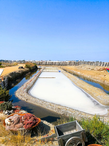 Traditional saltworks. Isla Cristina, Huelva, Spain. Deposits sediments, canals and mud flats. Southern Andalusia saltworks. Saltworks Traditional Salt Huelva Isla Cristina. Huelva. SPAIN Mediterranean  Cuisine Local Economy Andalusia Condiment Commercial Extraction Sediments Mineral Sodium Chloride Benefit Ecological Sal Terrae