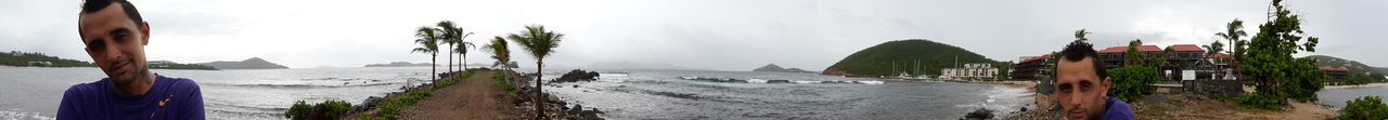 st thomas Beachphotography IPhoneography Landscape Tree Winter Fog Mountain Panoramic Sky