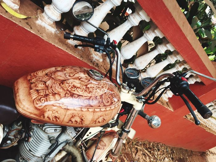Creative Art Freedom Mandrem India Ganesha Aerography Bikeaerography Bike Vacations Goa Love