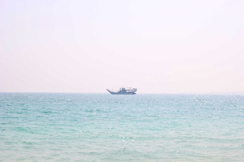 Sail away with me honey Sea Water Waterfront Transportation Horizon Over Water Nature Mode Of Transport Clear Sky Sky Sailing No People Outdoors Scenics Beauty In Nature