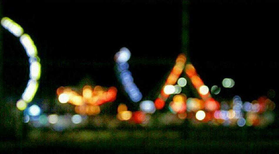 Carnival Countyfair Bokeh Lights