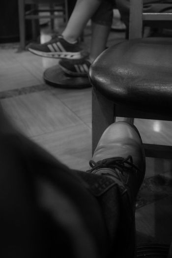 Shoe Low Section Sitting Body Part Human Body Part Human Leg Real People Selective Focus