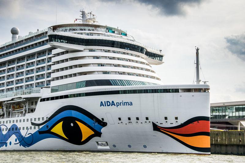 Aida Aida Prima Cloud - Sky Cruise Ship Day No People Outdoors Port Sky Travel