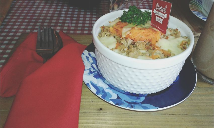 Spicy Food What's For Dinner? Baked Rice Spicy Tuna Baked Rice yummmy i like this spicy food ?