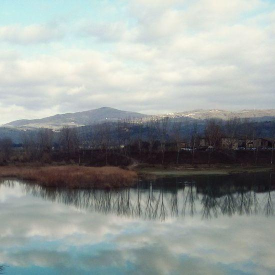 Golfing Reflection Sky
