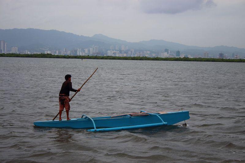 fisherman on