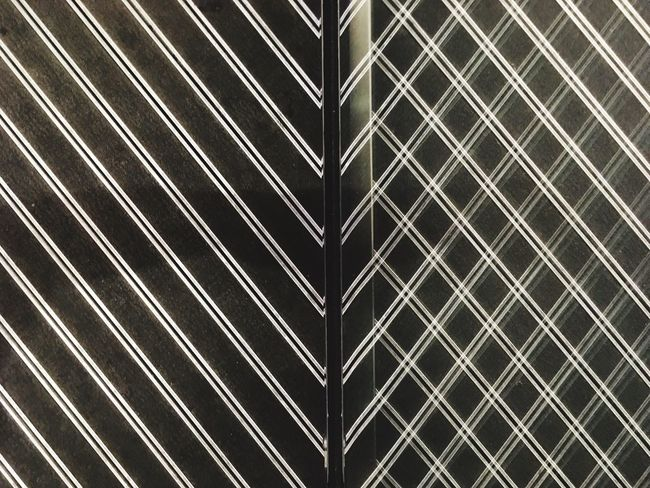 Full Frame Backgrounds Pattern No People Textured  Close-up Day Outdoors Reflection Glass Striped Pattern, Texture, Shape And Form Patterns