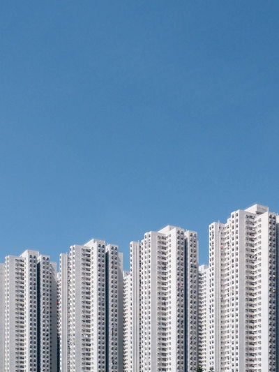 step by step. Residential Structure Estate Architecture Cityscape HongKong Hong Kong Clear Sky Building Buildings Minimalism Close-up Residential District Residential Building TOWNSCAPE Urban Scene Urban Skyline