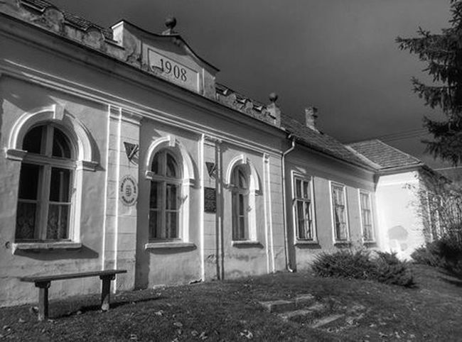 School Building Oldbuilding Blackandwhite Blackandwhite Photography Inkwell Sky Skyhunter HDR Hdrphotography Hdr_lovers Myvillage Hungary Countryside Landscape Landscapes Likeforlike Follow4follow Taking Photos Photo Photography Picoftheday Photooftheday Photoshoot Beautiful