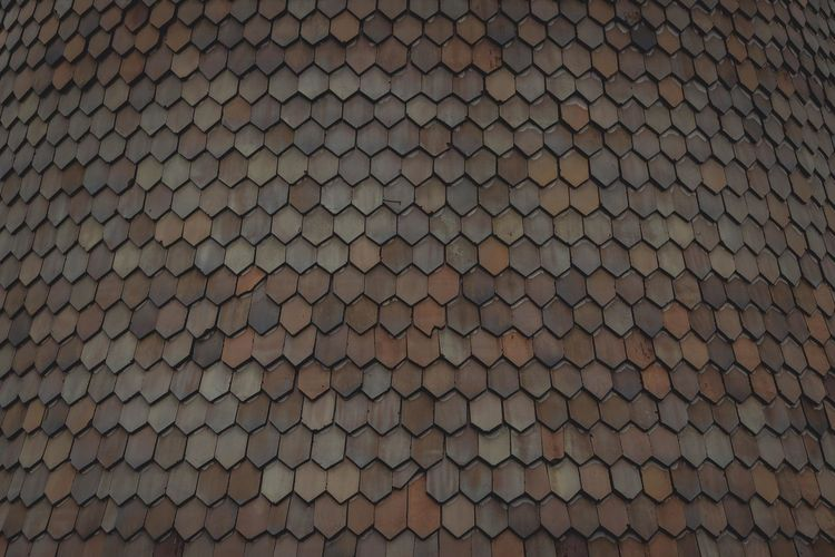 Abundance Arrangement Backgrounds Castle Close Up Close-up Conformity Detail Extreme Close Up Focus On Foreground Full Frame Geometric Shape Hunedoara In A Row Large Group Of Objects LINE No People Pattern Patterned Repetition Roof Rooftop Textured  Transylvania Yellow