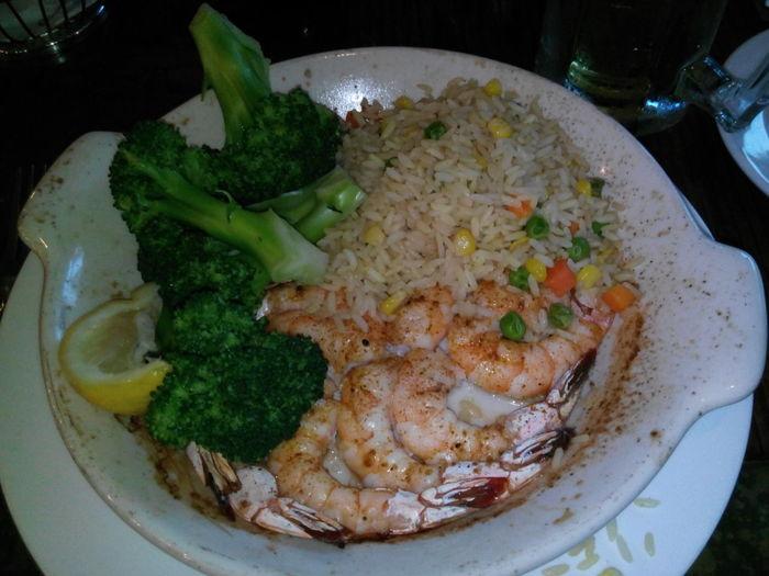 Broiled Shrimp Food