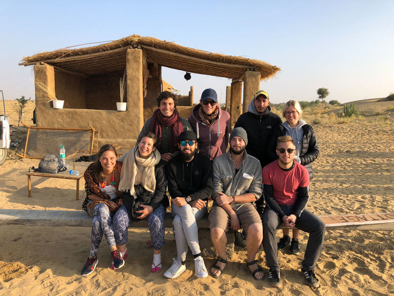 Desert India Sheepherd Travel Camel Happiness Jaisalmer Mature Adult Mature Men Mature Women Medium Group Of People Mid Adult Mid Adult Men Obrigado Outdoors Portrait Rajasthan Sand Sand Dune Sheep Smiling Sunset Thar Desert Togetherness