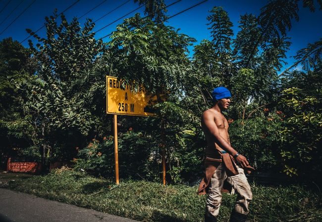 Working Man Dominican Republic Sunny Summer Fujifilm_xseries Photographyisthemuse Travel Photography Travel Destinations Streetphotography Walking Tree Real People One Person Full Length Shirtless Outdoors Day One Man Only Adult Young Adult Men People Blue Sky Lifestyles Growth Nature
