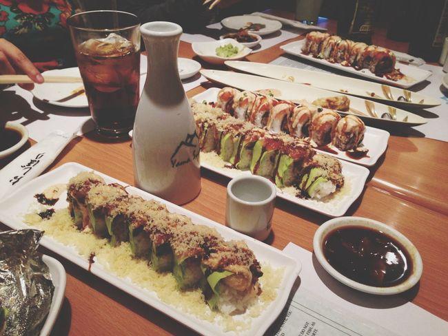 Sushi for an Asian girl