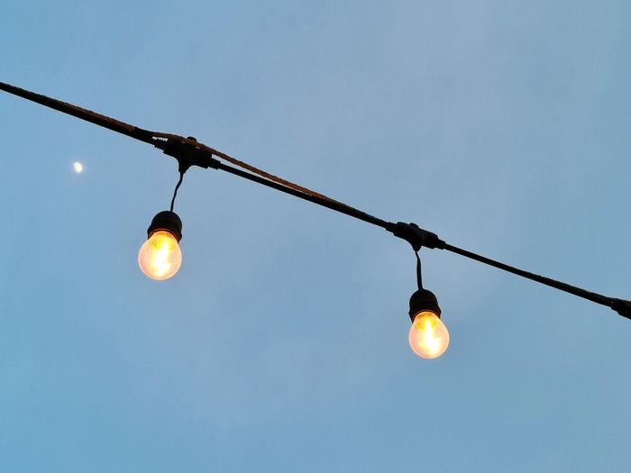 lights hanging