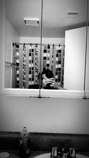 Black and white lyfe Blackandwhite Enjoying Life Bathroom Pic
