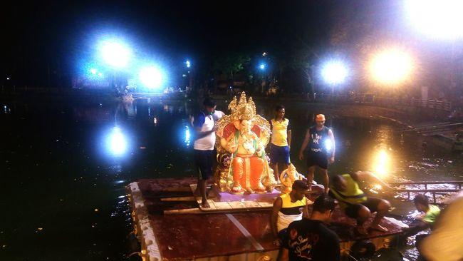 Ganesha India Mumbai Visarjan Chaturthi Culture EyeEm Best Shots GanpatiVisarjan