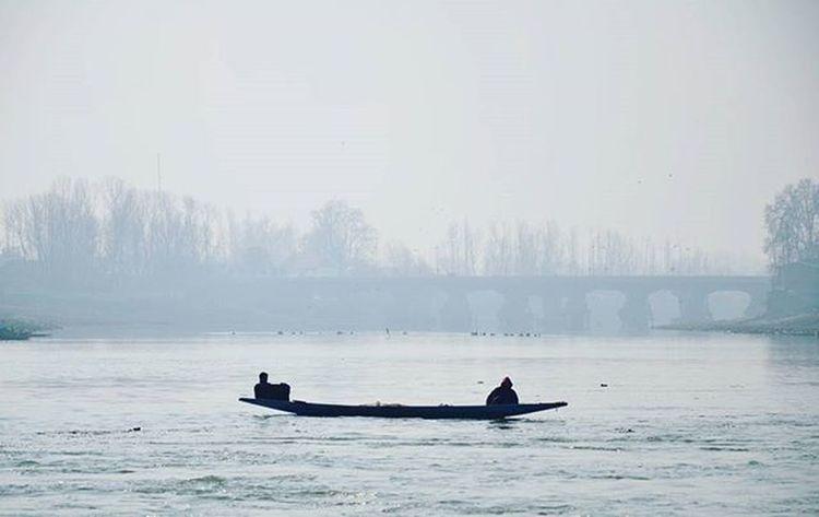 Fishermen Wait In Their Boat On A Foggy Morning In River Jehlum Near Sopore In Occupied Kashmir. OneDayKashmirWillBeFreeAndJehlumWillConnectUsWithPakistan KashmirIsPakistan Sopore RiverJehlum Reportagespotlight IExplorePakistan IExploreKashmir Photooftheday Photosociety Etribune Dawndotcom TPSTamron Travelbeautifulpakistan .Soi Pakistan Passionpassport Dailylifekashmir Kpc Nikon Everydaykashmir Indiapictures Wanderlust Wanderer Travel Ig_captures revoshotsphotography Revoshots Rebel Revo Freedom