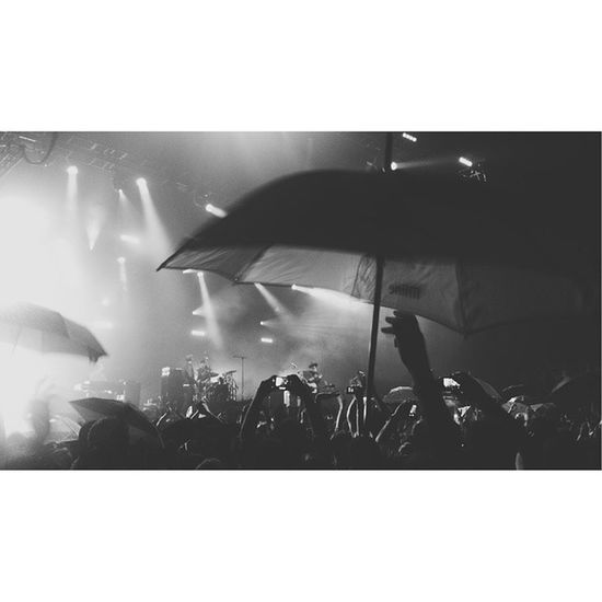 Travis Concert Istanbul Rain sixteenbynine 16x9 vscocam vsco