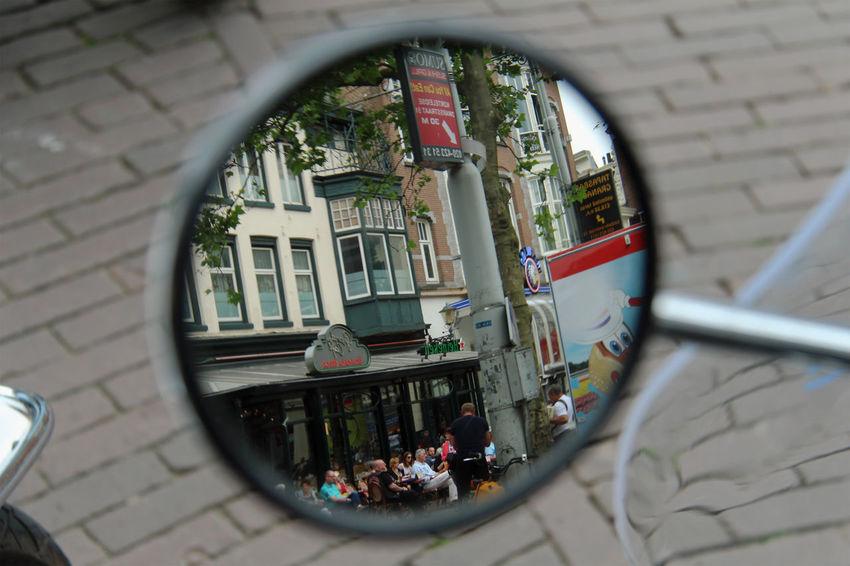 Mirrored Leidseplein Amsterdam