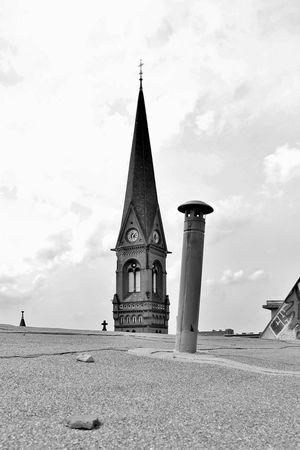 Architecture Berlin Church Church Cloud Cloudy Dach Day Kirche No People Outdoors Prenzlauer Berg Religion S/w Spirituality Trzoska
