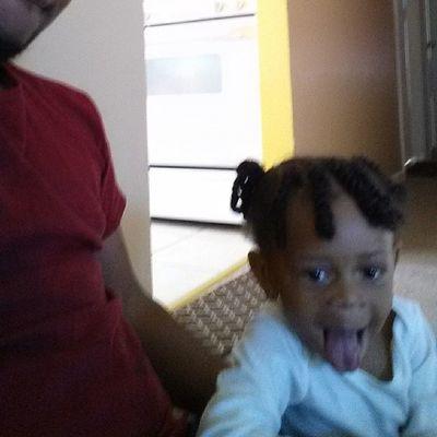 Lil sis acting goofy