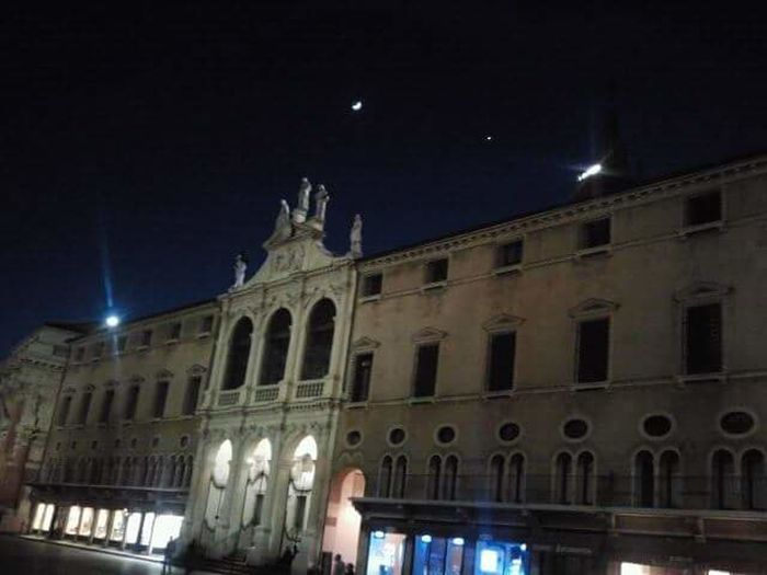 Night Illuminated Architecture Building Exterior Built Structure Low Angle View Travel Destinations Sky Moon Outdoors Astronomy No People City Politics And Government