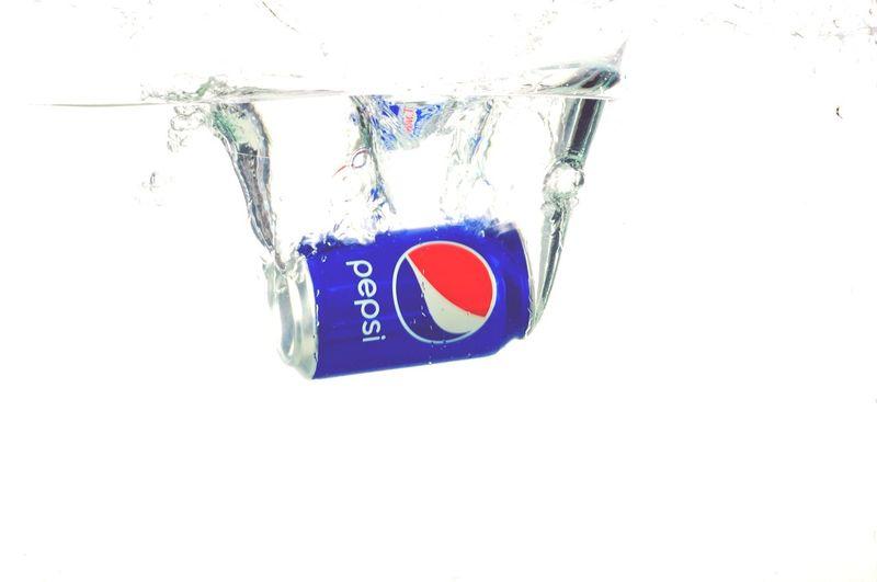 Pepsi Aquarium Water Still Life