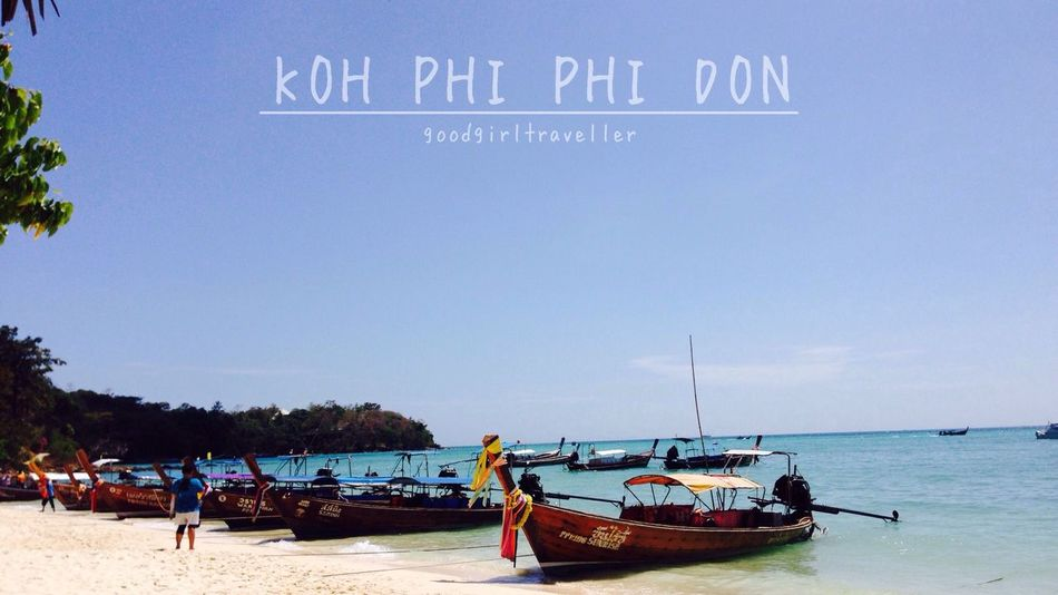 Welcome to Thailand Thailandtravel KohPhiPhi, Thailand