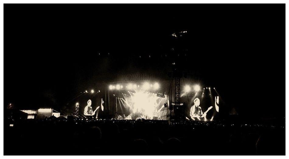 The Rolling Stones in Concert! Concert The Rolling Stones Outdoor Belgium