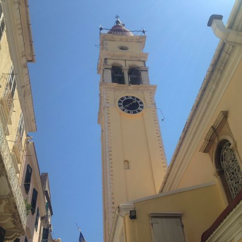 Corfu Town Town Taking Photos Holiday Favourite Place