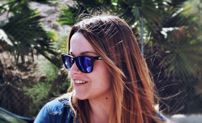 Headshot Young Adult One Person Long Hair Sunglasses Young Women Real People Portrait Close-up One Young Woman Only Outdoors Day One Woman Only Only Women Nature People Adults Only Adult EyeEm Diversity