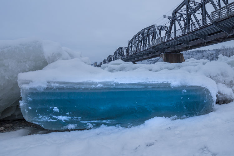A throwback to the deep freeze in December and consistent temperatures between -20C and -30C (-4F and -22F) that caused the ice jam on the Nechako River in Prince George. The town declared a Level 1 emergency when the ice jam reached the confluence of the Fraser River. Ice jams cause the river level to rise and can lead to flooding. The ice in an ice jam is dangerous and unstable and not suitable for walking on. Love Life, Love Photography Bc Blue Bridge British Canada Cold Temperature Columbia Confluence Crush Dangerous Fraser George Ice Jam Nechako PG Prince  Railway River Rough Sky Slabs Water Frozen Slab Perspectives On Nature