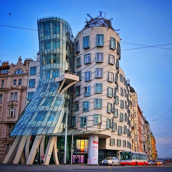 I love this #DancingHouse ?#prague #architecture #iglifecz Architecture Prague Dancinghouse Iglifecz