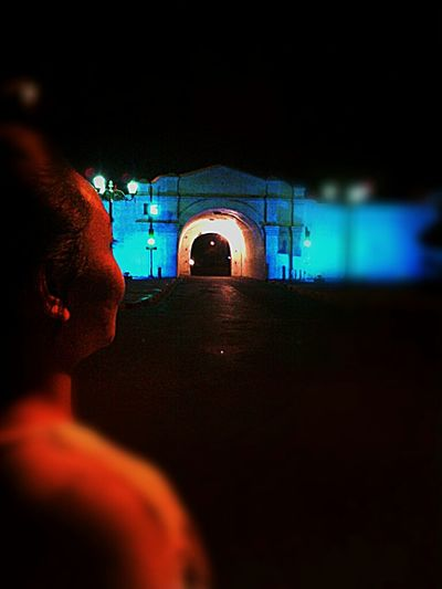 Me, My Self And I Midnite Jogja Heritage Traficlight Traveling Visual Blur