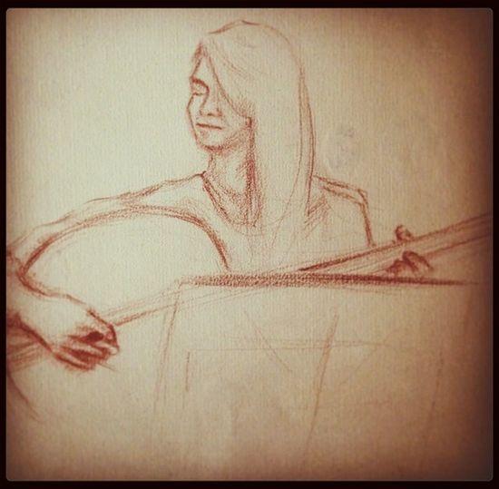 Drawing Tanbur Music Me