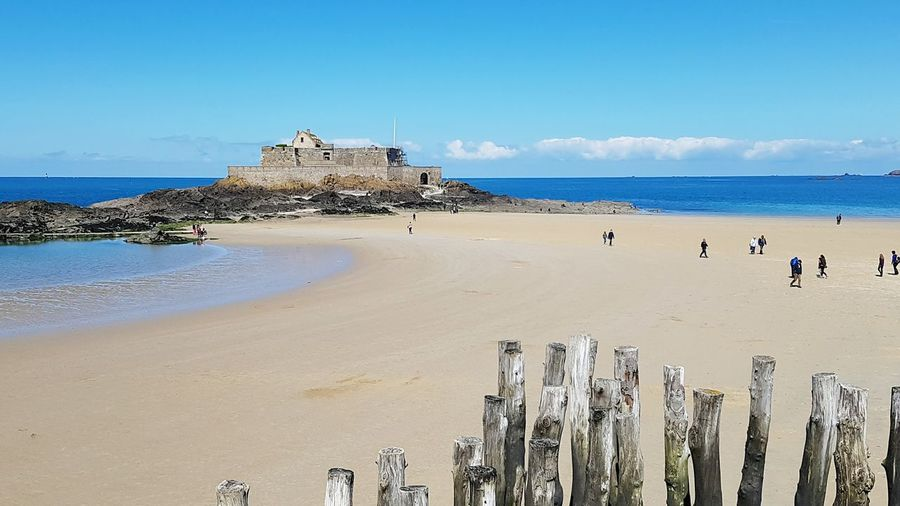 Saint Malo Plage Iles  Maree France First Eyeem Photo