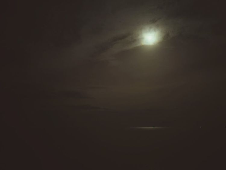 Moon Dark Night Moonlight Cloud - Sky Backgrounds Nature Sky Outdoors Beauty In Nature No People