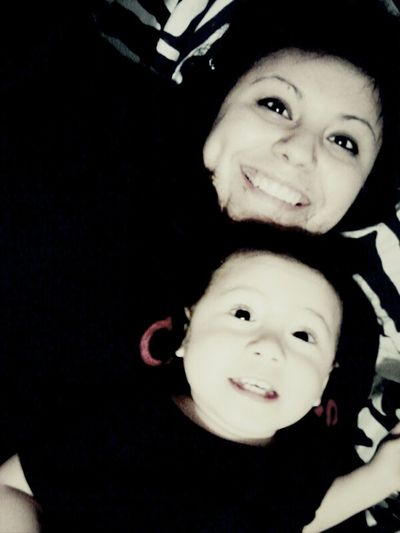 The best person in the world#babysis#me