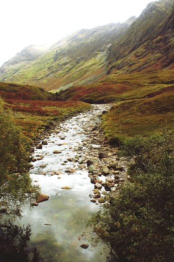 Base of the Glencoe mountains Scotland. Nature Landscape Tourism Tranquility Mountain Geology Majestic Scenics Beauty In Nature Idyllic Travel Destinations Tranquil Scene Mountain Range Non-urban Scene Physical Geography Travel Sky Heaven Scotland Water Water Surface