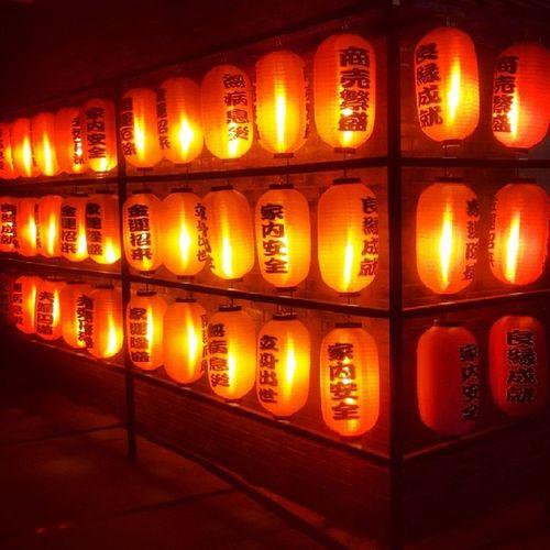 Japanese  Lamp Night Shanghai Instanight Instalike Jj  Jj_forum_0893 Illuminated Ilobsterit Red