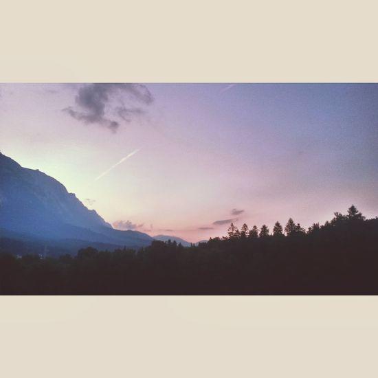Beautiful Sunset Mountains